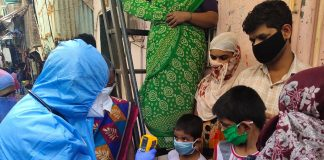 dharavi testing coronavirus