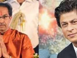 shahrukh khan and uddhav thakrye