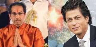shahrukh khan and uddhav thakrye