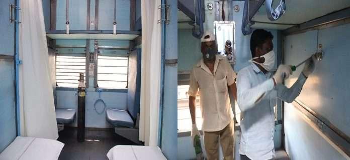 40 railway coaches reday for coronavirus patient