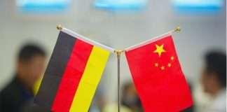 german and china flag
