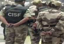 corona infected to CISF soldier in mumbai