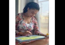 marathi actress prathana behare share her painting on instagram