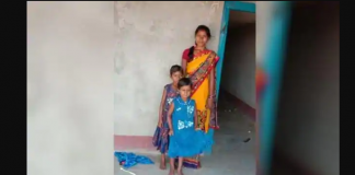 story wife stand in front of bus to prevent husband from going to mumbai died after bus crushed her in hazaribagh jharkhand