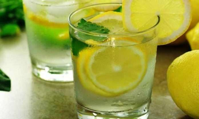 healthy benefits of drinking lemon water