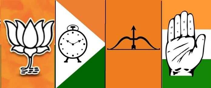 Congress-Shiv-Sena-NCP-symbols