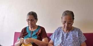 Elderly sister's social work