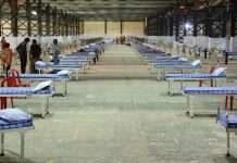 mumbai capacity 2600 beds in nesco center goregaon