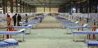 mumbai capacity 2600 beds in nesco center goregaon