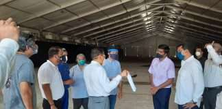Addition of 150 beds at Corona Center in NSCI Sports Complex in Worli