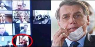 Man accidentally broadcasts his naked body while on Zoom call with Brazilian President
