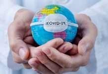 Coronavirus word