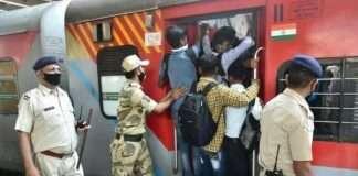 Railway start fro migrant labourer