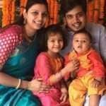 Rohit and Kunti Pawar family