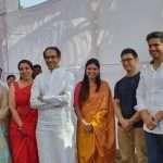 Uddhav Thackeray and Amir Khan Visit at Baramati