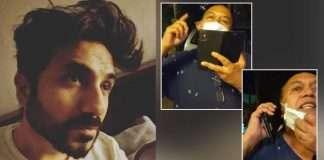bollywood actor vir das shares video of neighbour sneezing at him