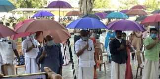 Coastal Kerala village uses umbrella as weapon to combat Covid-19