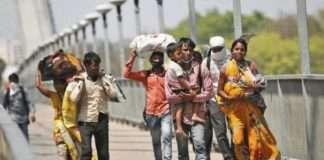 Migrant Worker Walking