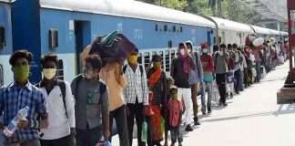 western railway announcement of special trains for migrant workers