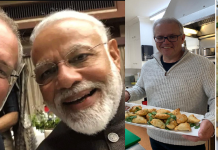 australian pm make samosas pm narendra modi replies