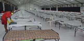 quarantine centre at Rece course