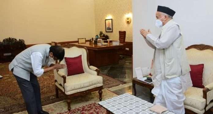 sanjay raut meet governor bhagatsingh koshyari