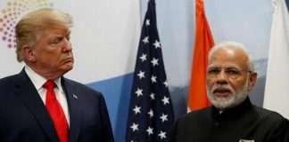 pm modi not in good mood border row with china said president donald trump