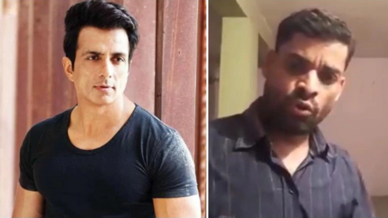 Man dedicates song to Sonu Sood for helping migrants. Don't miss the actor's reply