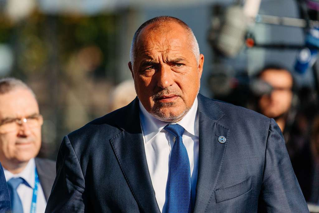 prime minister bulgaria fined not wearing mask in church
