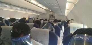 Workers are returned in mumbai through flight