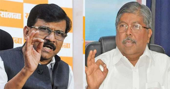 Shiv Sena MP Sanjay Raut challenged the BJP to come to the cage
