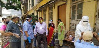 Patient rates in Grand Road, Girgaum, Malabar Hill, Pedder Road decreased