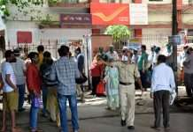 social distancing violations in ghatkopar post office
