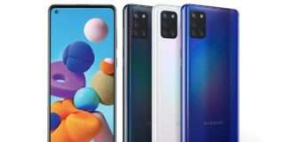 samsung galaxy a21s launched in india with punch hole display