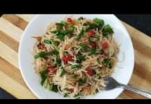 easy breakfast shevyancha upma recipe