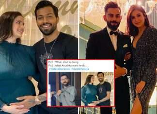 hardik pandya natasa stankovic surprise wedding and pregnancy announcement with memes on kohli and anushka by fans