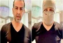 bollywood ronit roy mask video viral in america know connection with george floyd protest