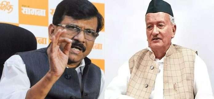 sanjay raut and bhagat singh koshyari