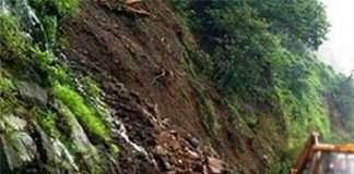 landslide in kashedi; mumbai goa highway closed