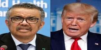 U.S. notifies UN of withdrawal from World Health Organization