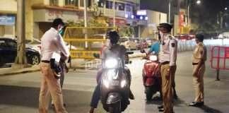 Action taken against 3,000 vehicles in lockdown in Thane