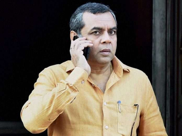 Actor ex mp Paresh Rawal