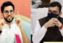 Aditya thackeray slams devendra fadnavis