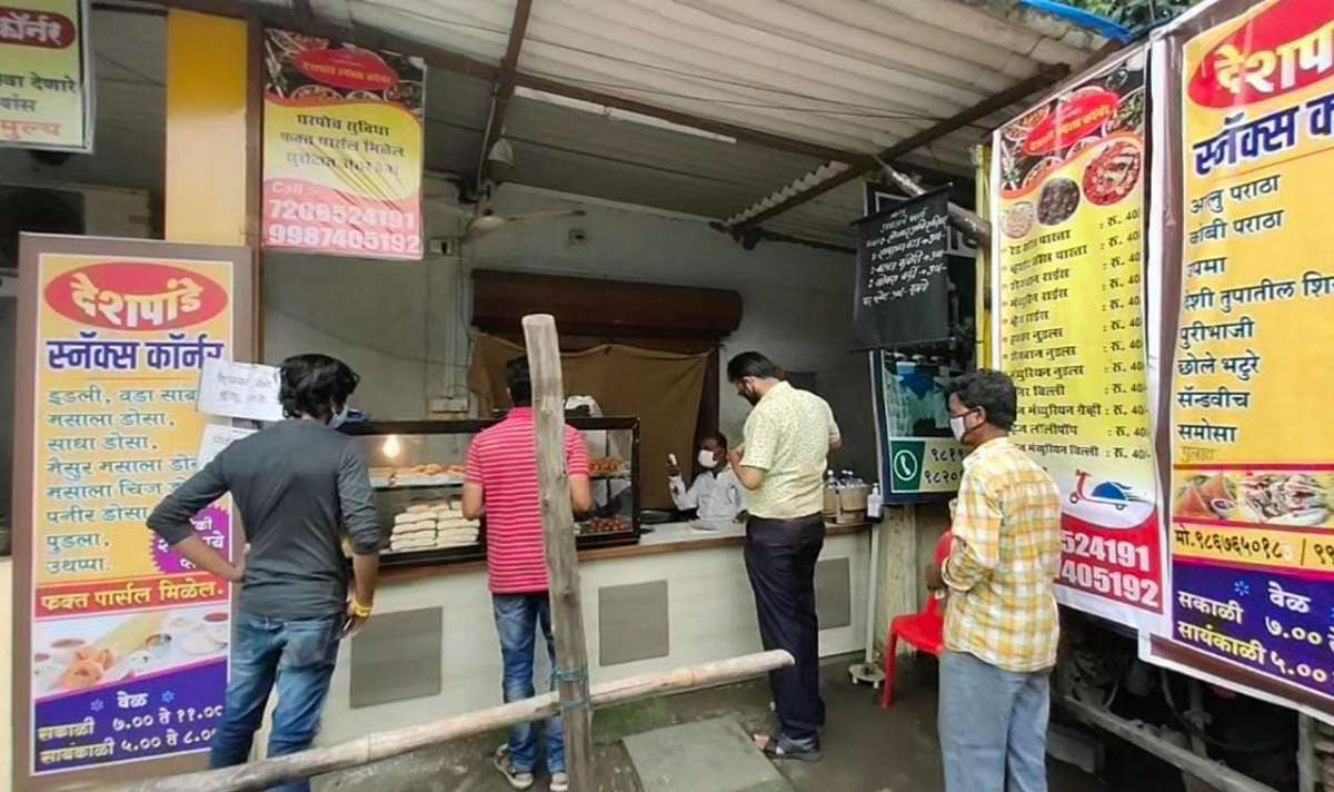 catering professional provided free meals to the essential service staff in kalyan