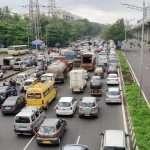 traffic jam at goregaon