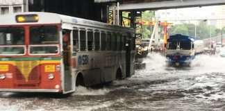 heavy rain continue city imd issues red alert