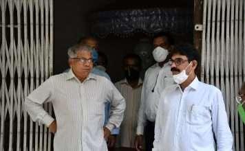 prakash Ambedkar and bala nandgaonkar visit rajgruha at dadar