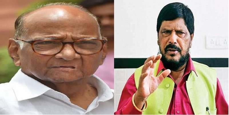 Ramdas Athavale's offer to Sharad Pawar to join NDA