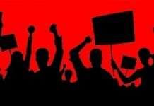 बागलाण तालुका ग्रामपंचायत कर्मचारी संघाचे धरणे आंदोलन