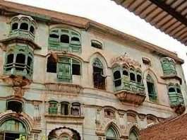 the matter of the collapse historic mansion of the kapoor family